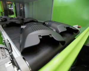 Conveyor belts for automotive parts