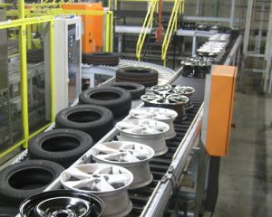 Conveyor belts for tyre Industry, India