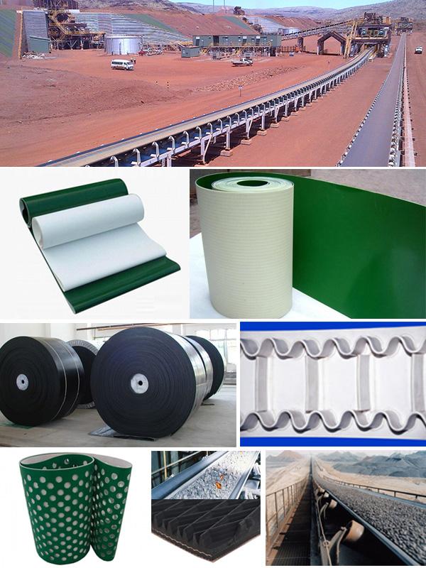 Industrial Conveyor Belts exporter in Rajkot, Rajasthan, India